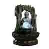 Lighted Crystal Ball & Buddha Indoor Water Fountain